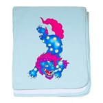 Foo Dog Tattoo baby blanket