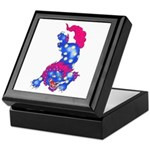 Foo Dog Tattoo Keepsake Box