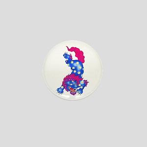 Foo Dog Tattoo Mini Button