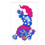 Foo Dog Tattoo Postcards (Package of 8)