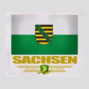 Sachsen Pride Throw Blanket