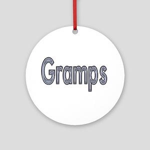 GRAMPS metal Ornament (Round)