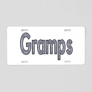 GRAMPS metal Aluminum License Plate