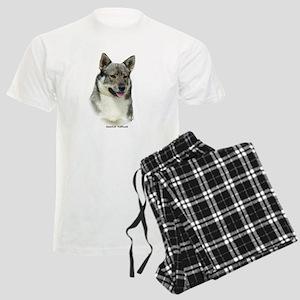 Swedish Vallhund 9K1D-14 Men's Light Pajamas