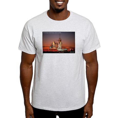 The Final Flight STS-135 Light T-Shirt