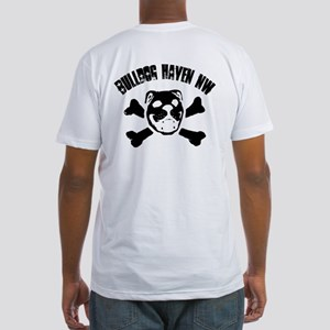 BHNW Skull Duo Fitted T-Shirt