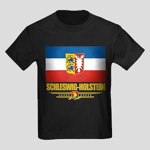Schleswig-Holstein Pride Kids Dark T-Shirt