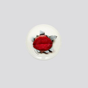 Lips Burster Mini Button (10 pack)