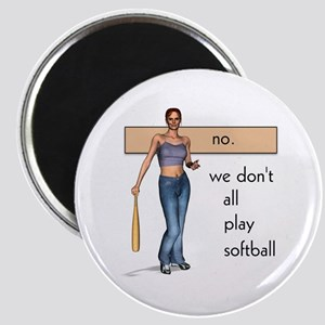Lesbian Softball Magnet
