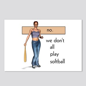 Lesbian Softball Postcards (Package of 8)