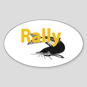 Rally Catfish Sticker (Oval)