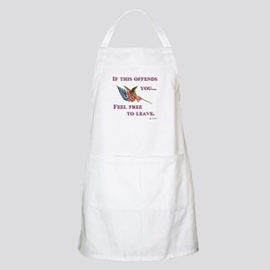 If This Offends You Apron