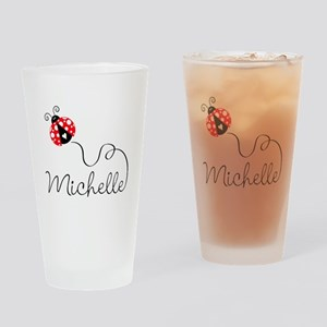 Ladybug Michelle Drinking Glass