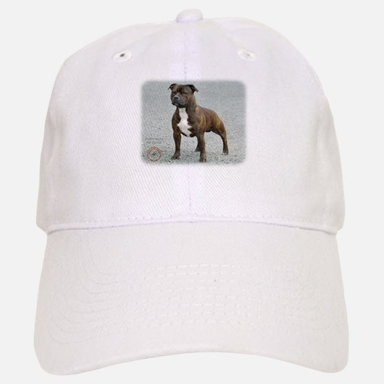 Staffordshire Bull Terrier 9F23-14 Baseball Baseball Cap