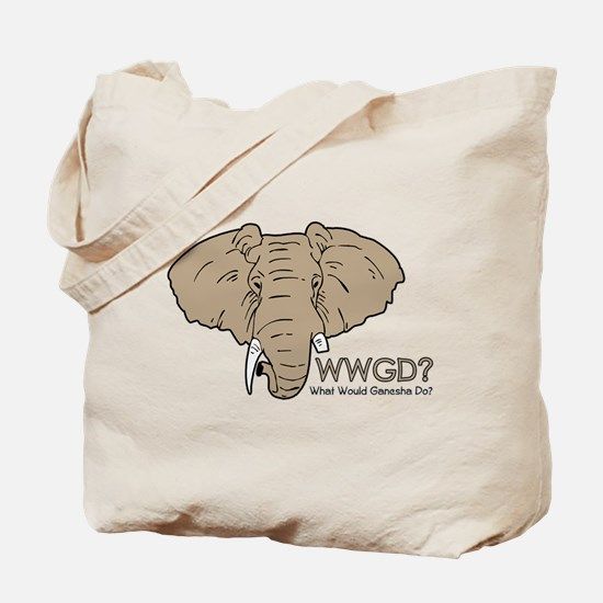 What Would Ganesha Do? Tote Bag