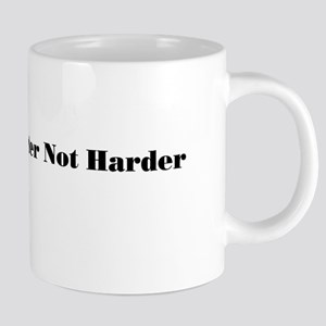 work harder 20 oz Ceramic Mega Mug