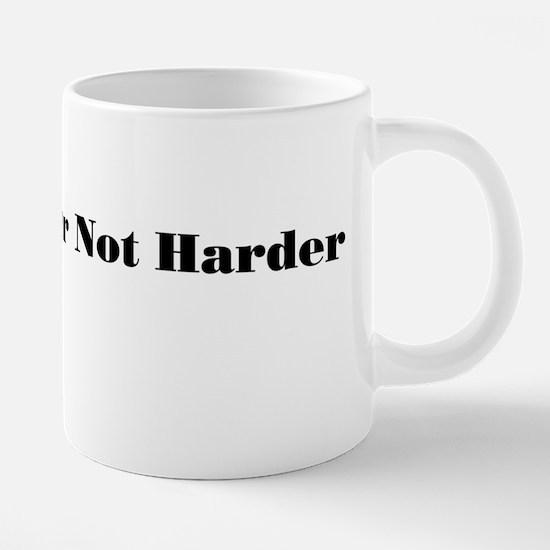 work harder.png 20 oz Ceramic Mega Mug