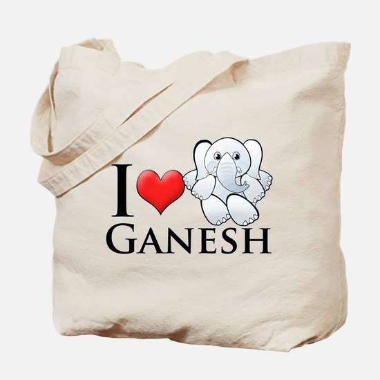 I Heart Ganesh Tote Bag