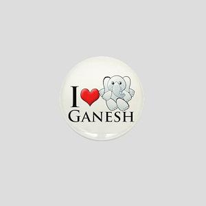 I Heart Ganesh Mini Button