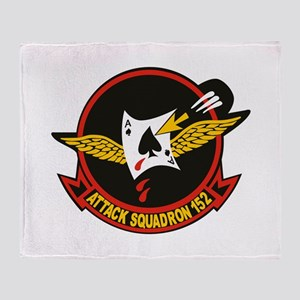 VA-152 Fighting Aces Throw Blanket
