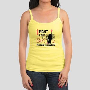 Licensed Fight Like a Girl 26W Jr. Spaghetti Tank