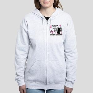 Licensed Fight Like a Girl 26W Women's Zip Hoodie