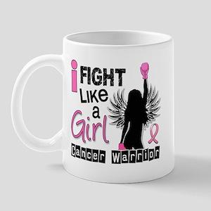 Licensed Fight Like a Girl 26W Mug