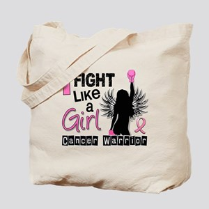 Licensed Fight Like a Girl 26W Tote Bag