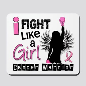 Licensed Fight Like a Girl 26W Mousepad