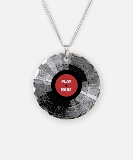Into Vinyl Necklace