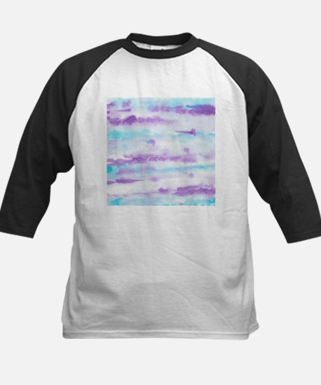 Abstract Watercolors Brush Strokes Baseball Jersey