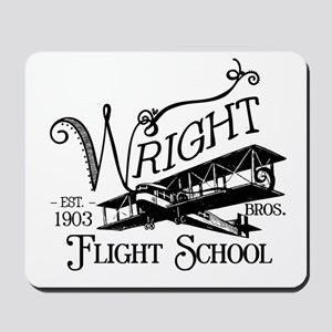 Wright Bros. Flight School Mousepad