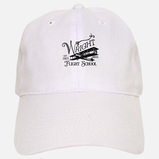 Wright Bros. Flight School Baseball Baseball Cap