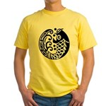 carp and wave Yellow T-Shirt