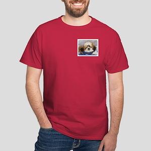 Shih Tzu puppy 9Y506D-041 Dark T-Shirt