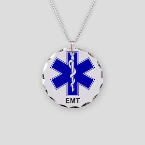 BSL - EMT Necklace Circle Charm