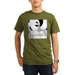Reggie's Clever Ruse (no text) Organic Men's T-Shi