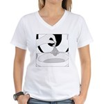 Reggie's Clever Ruse (no text) Women's V-Neck T-Sh