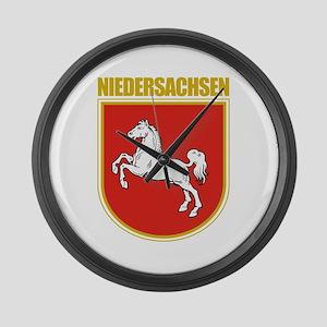 Niedersachsen (Lower Saxony) Large Wall Clock