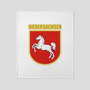 Niedersachsen (Lower Saxony) Throw Blanket