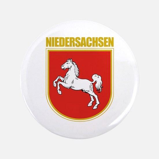 """Niedersachsen (Lower Saxony) 3.5"""" Button"""