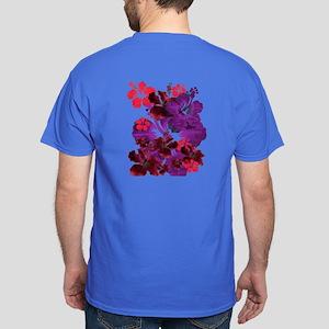 Hibiscus Dark T-Shirt