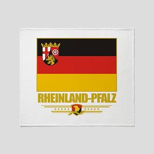 Rheinland-Pfalz Pride Throw Blanket
