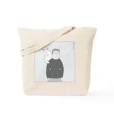 Back Goat (no text) Tote Bag