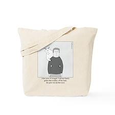 Back Goat Tote Bag