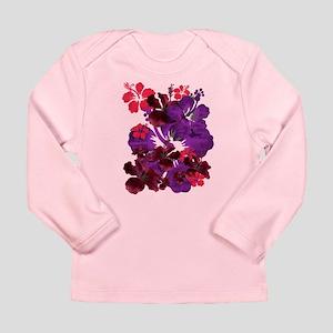 Hibiscus Long Sleeve Infant T-Shirt