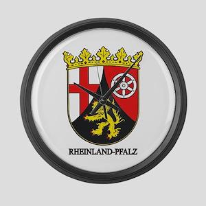 Rheinland-Falz COA Large Wall Clock