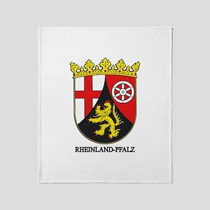 Rheinland-Falz COA Throw Blanket