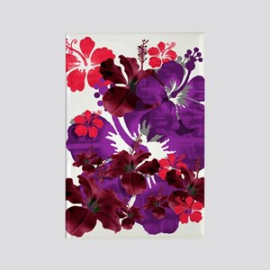 Hibiscus Rectangle Magnet