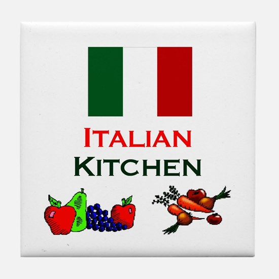Italian Kitchen Tile Coaster